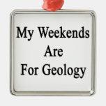 Mis fines de semana están para la geología