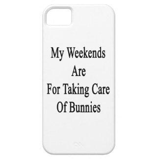 Mis fines de semana están para tomar el cuidado de iPhone 5 Case-Mate cobertura
