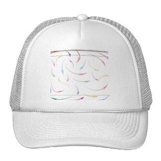 Mis flechas coloreadas arco iris de la manera en b gorra