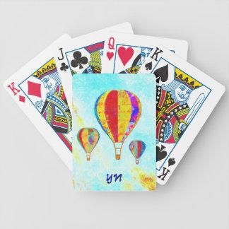 Mis globos hermosos baraja cartas de poker