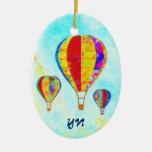 Mis globos hermosos ornamento de reyes magos