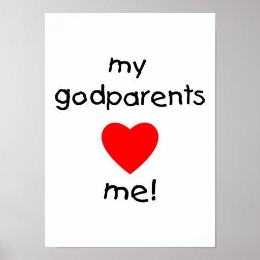 Mis Godparents me aman Poster