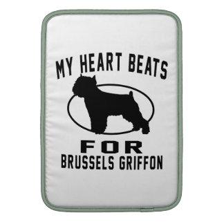 Mis golpes de corazón para Bruselas Griffon. Fundas Para Macbook Air