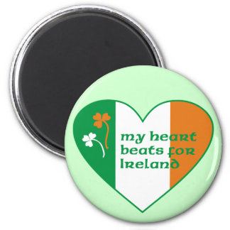 Mis golpes de corazón para Irlanda Imán Redondo 5 Cm