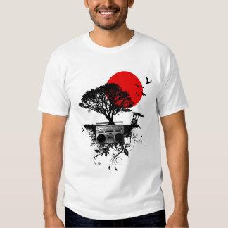 Mis golpes de corazón para Japón en la camiseta Playera