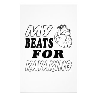 Mis golpes de corazón para Kayaking Papeleria