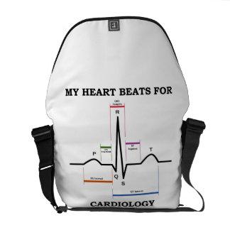 Mis golpes de corazón para la cardiología bolsa de mensajeria