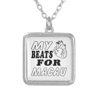 Mis golpes de corazón para Macao Grimpolas Personalizadas