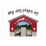 Mis juegos del perro en el parque del Pac del Postal