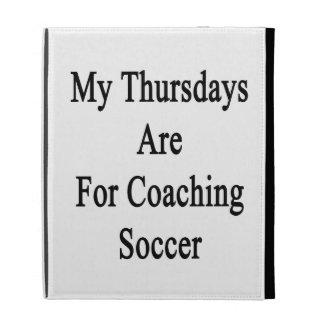 Mis jueves están para el fútbol que entrena
