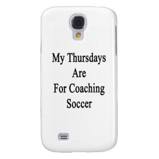 Mis jueves están para el fútbol que entrena funda para galaxy s4
