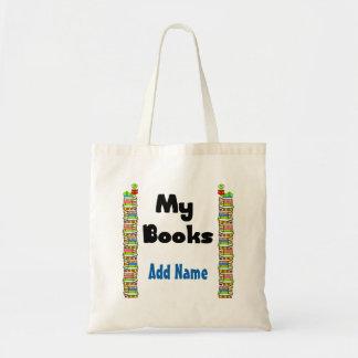 Mis libros bolsa tela barata