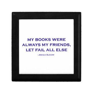 Mis libros eran siempre mis amigos caja de recuerdo