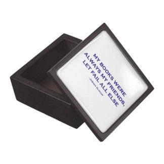 Mis libros eran siempre mis amigos cajas de joyas de calidad