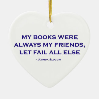 Mis libros eran siempre mis amigos adornos de navidad