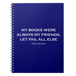 Mis libros eran siempre mis amigos libros de apuntes con espiral