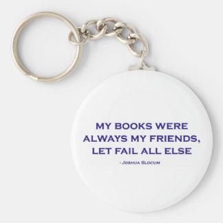 Mis libros eran siempre mis amigos llaveros