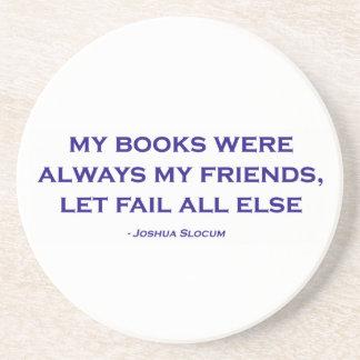 Mis libros eran siempre mis amigos posavasos cerveza