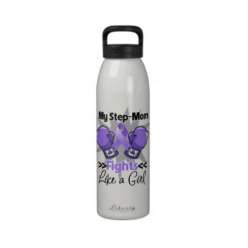 Mis luchas de la madrastra como un linfoma de Hodg Botellas De Agua Reutilizables