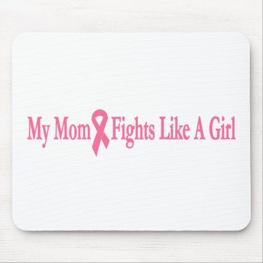 mis luchas de la mamá como un chica alfombrilla de ratones