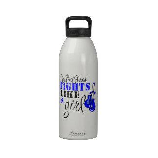 Mis luchas del mejor amigo como un chica - Blue Ri Botella De Agua