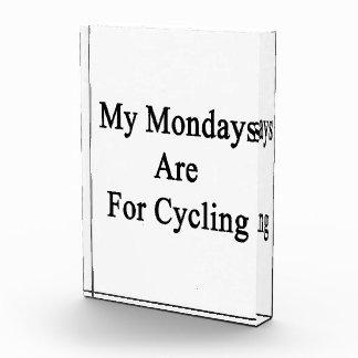 Mis lunes están para completar un ciclo