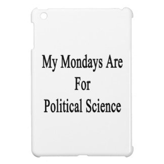 Mis lunes están para la ciencia política