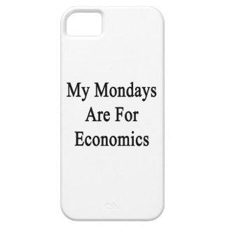 Mis lunes están para la economía iPhone 5 fundas