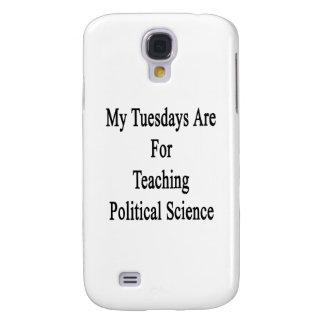 Mis martes están para enseñar a ciencia política carcasa para galaxy s4