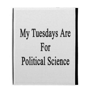 Mis martes están para la ciencia política