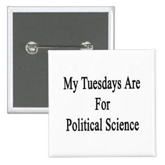 Mis martes están para la ciencia política pin