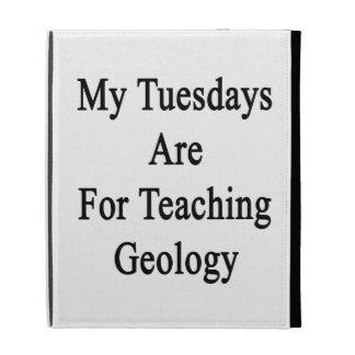 Mis martes están para la geología de enseñanza