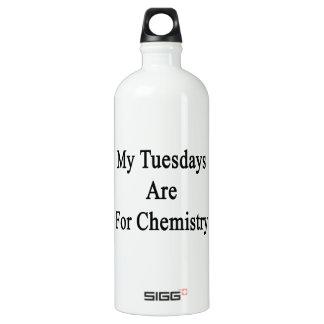 Mis martes están para la química