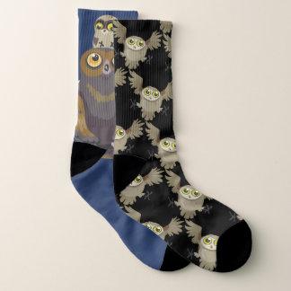 Mis-matched Owl Socks