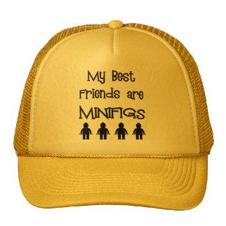 Mis mejores amigos son Minifigs cerca modifican mi Gorros