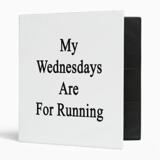 Mis miércoles están para correr