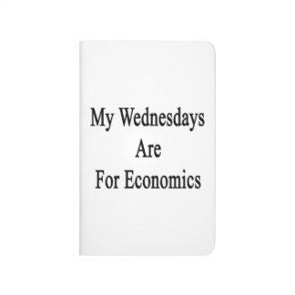 Mis miércoles están para la economía cuaderno