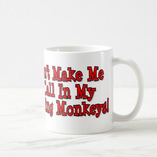 Mis monos taza de café