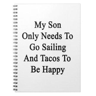 Mis necesidades del hijo solamente de ir a navegar notebook