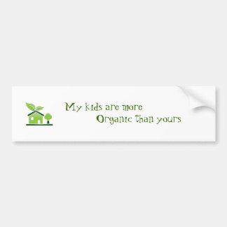 Mis niños… pegatina de parachoque