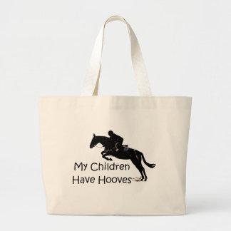 Mis niños tienen bolsa de asas del caballo de los