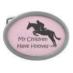 Mis niños tienen hebilla del cinturón del caballo  hebilla cinturon