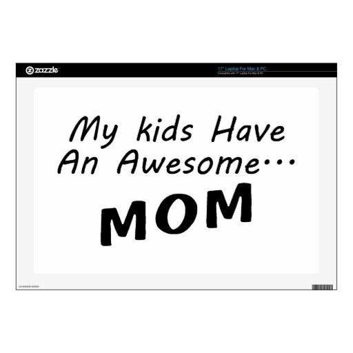 Mis niños tienen una mamá impresionante portátil skin