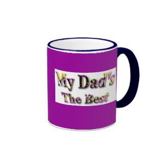 Mis papás el mejor taza