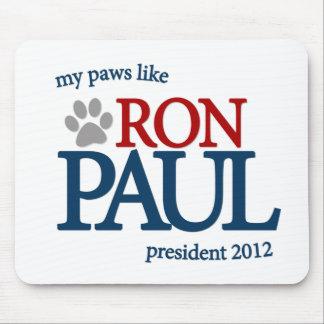 Mis patas tienen gusto de Ron Paul Alfombrilla De Ratón
