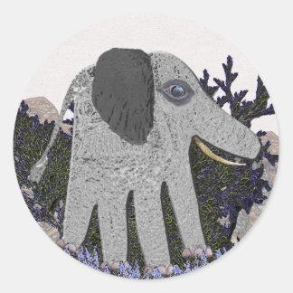 Mis pegatinas del elefante del bebé