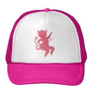 Mis pequeños gorras rosados del diablo