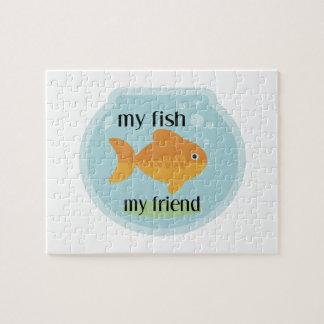Mis pescados mi amigo puzzles con fotos