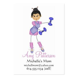 Mis pocas tarjetas de la mamá del instructor de la tarjetas de visita
