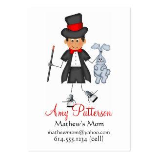 Mis pocas tarjetas de la mamá del mago del futuro tarjetas de visita grandes